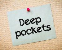 Deep Pockets Stock Photos