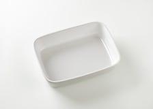 Deep porcelain baker Stock Images