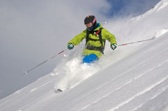 Deep powder Stock Images