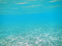 Deep pure blue Ocean Stock Photography