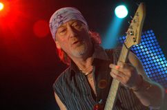 Deep Purple in Brno, 2006 Royalty Free Stock Images