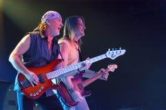 Deep Purple in Brno, 2006 Royalty Free Stock Image