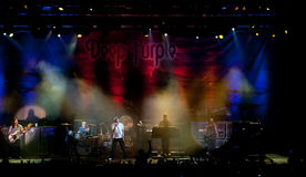 Deep Purple live in Cyprus Stock Photography