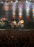 Deep Purple live in Cyprus Stock Photos