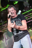 Deep Purple performs on stage during thier concert in Minsk, Belarus on March 27, 2011 Stock Images