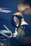 Deep Purple se realiza en etapa durante su concierto en Minsk, Bielorrusia el 27 de marzo de 2011 Fotos de archivo