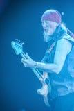 Deep Purple se realiza en etapa durante su concierto en Minsk, Bielorrusia el 27 de marzo de 2011 Fotos de archivo libres de regalías
