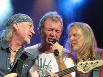 Deep Purple Tour Assago Italy Royalty Free Stock Photos