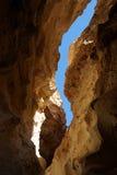 Deep ravine Royalty Free Stock Images
