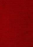Deep Red Background of Woven Fabric. Deep Red Background, Intricate Pattern of Woven Fabric Royalty Free Stock Photo