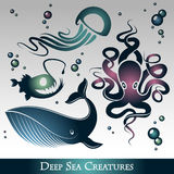 Deep Sea Creatures Royalty Free Stock Photo