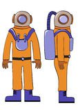 Deep-sea diver Royalty Free Stock Photography