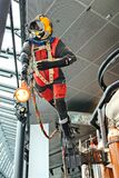 A deep sea diver mannequin on display at the Stavanger Petroleum Museum