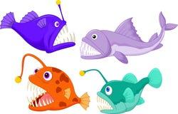 Deep sea fish. Illustration of Deep sea fish Stock Photography