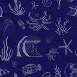 Deep Sea Ocean Science. vector illustration