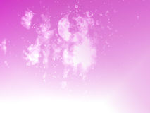 Deep sea style pink color dollar bokeh background and texture Stock Images