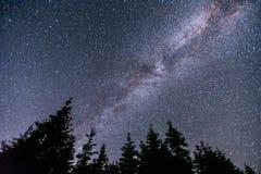 Deep sky astrophoto. Beauty world. Carpathians Ukraine Europe Royalty Free Stock Image