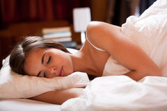 Deep sleep. Royalty Free Stock Photography