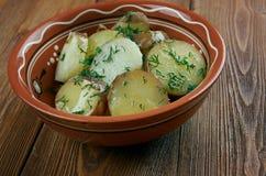 Deep South German Style Potato Salad Royalty Free Stock Image