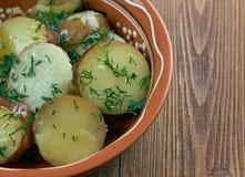 Deep South German Style Potato Salad Royalty Free Stock Photo