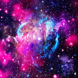Deep space. Royalty Free Stock Photography