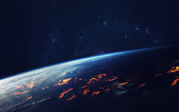Deep space art. Awesome for wallpaper and print. Elements of this image furnished by NASA royalty free stock image