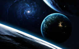 Deep space art. Awesome for wallpaper and print. Elements of this image furnished by NASA Stock Images