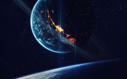 Deep space art. Awesome for wallpaper and print. Elements of this image furnished by NASA stock photography