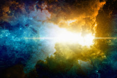 Deep space background Stock Images