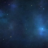 Deep space background stock illustration