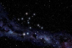 Cerntaurus constellation Stock Image