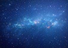 Deep space background Stock Photography