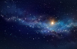 Deep space background Stock Image