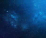 Deep space background Stock Photos