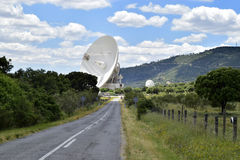 Deep space communications complex. Stock Image
