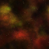Deep space cosmos stars Stock Images