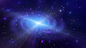 Deep Space Galaxy Loop stock footage