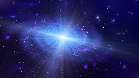 Deep Space Galaxy Slow Version royalty free illustration