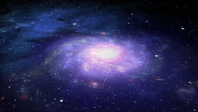 Deep Space Galaxy and Stars