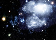 Deep space. High definition star field background Stock Photography