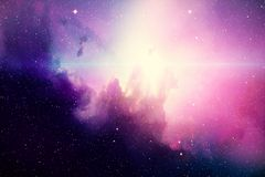 Deep space. High definition star field background royalty free illustration