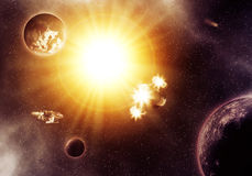 Deep Space Nebula Stock Images