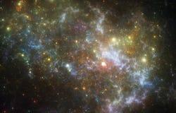 Deep space nebula Stock Photos