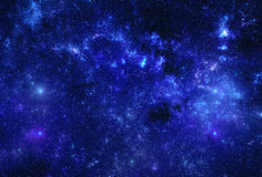 Deep space nebula Stock Images