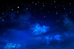 Free Deep Space. Night Sky, Abstract Blue Background Royalty Free Stock Images - 161665379