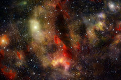 Deep space star nebula background Royalty Free Stock Photo