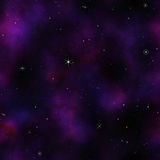 Deep Space stars background Stock Image