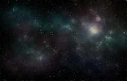 Deep space Universe stars night sky stock photography