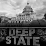 Deep State Politics Concept Royalty Free Stock Photo