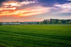 Deep Sunset Stock Photo